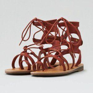 American Eagle Gladiator Sandals size 10